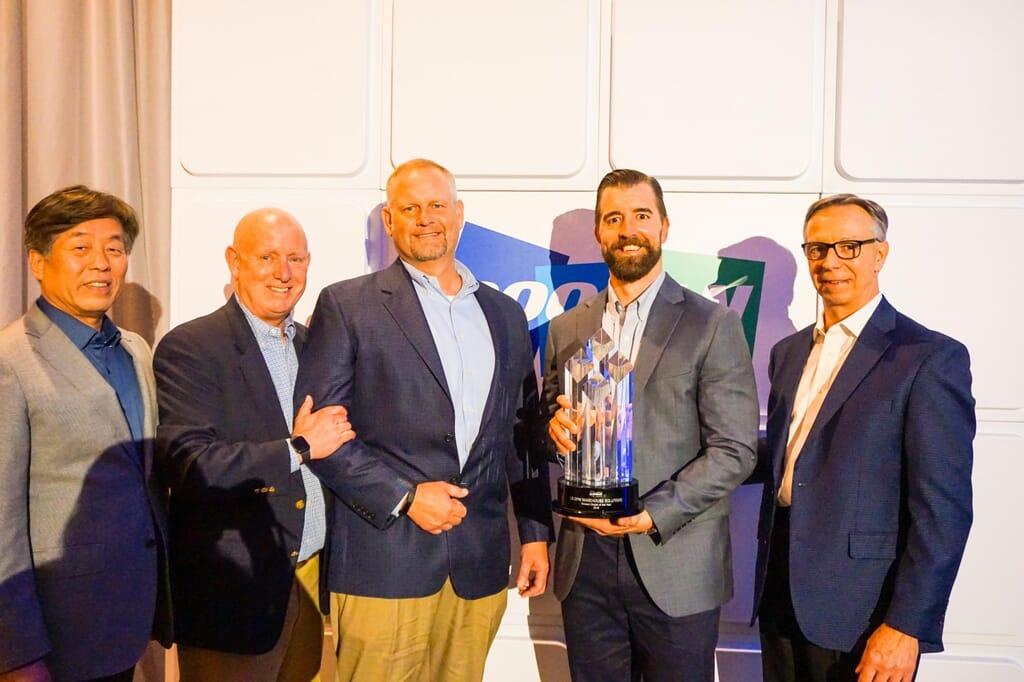 CE-DFW Accepts Award